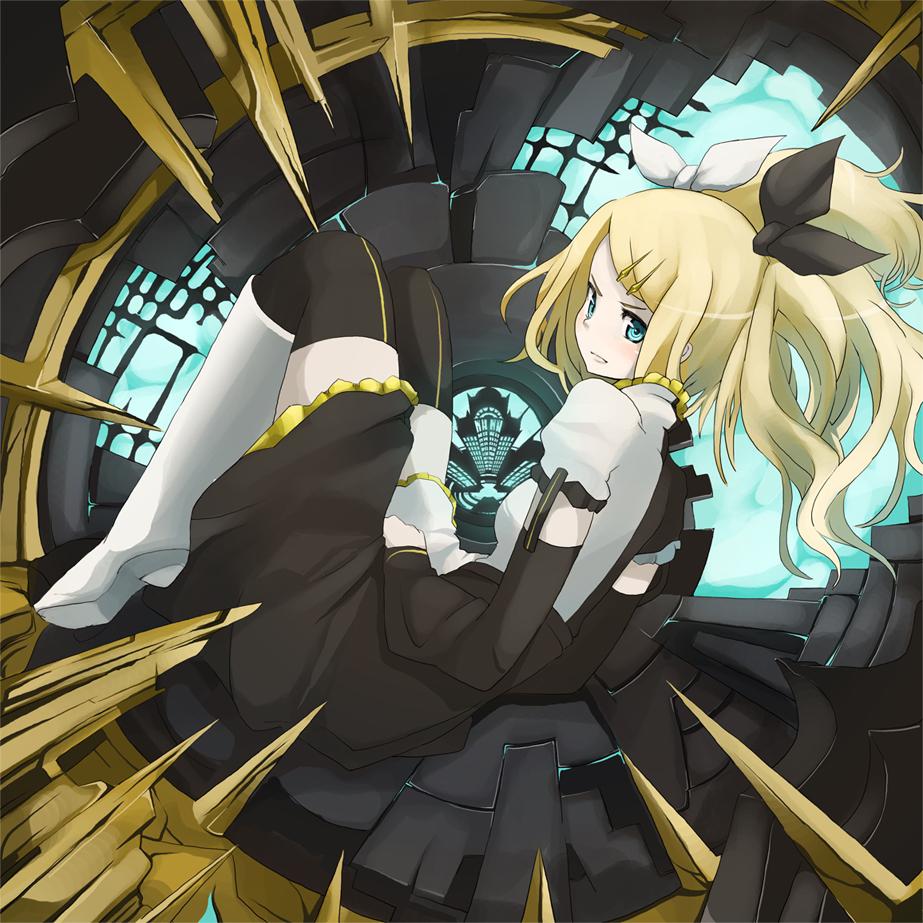Zerochan Anime Image: Kagamine Rin (Rin Kagamine)
