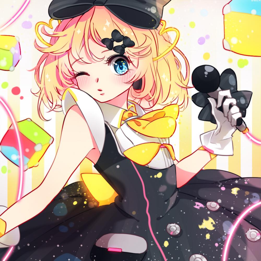 Hatsune miku eyes chibi