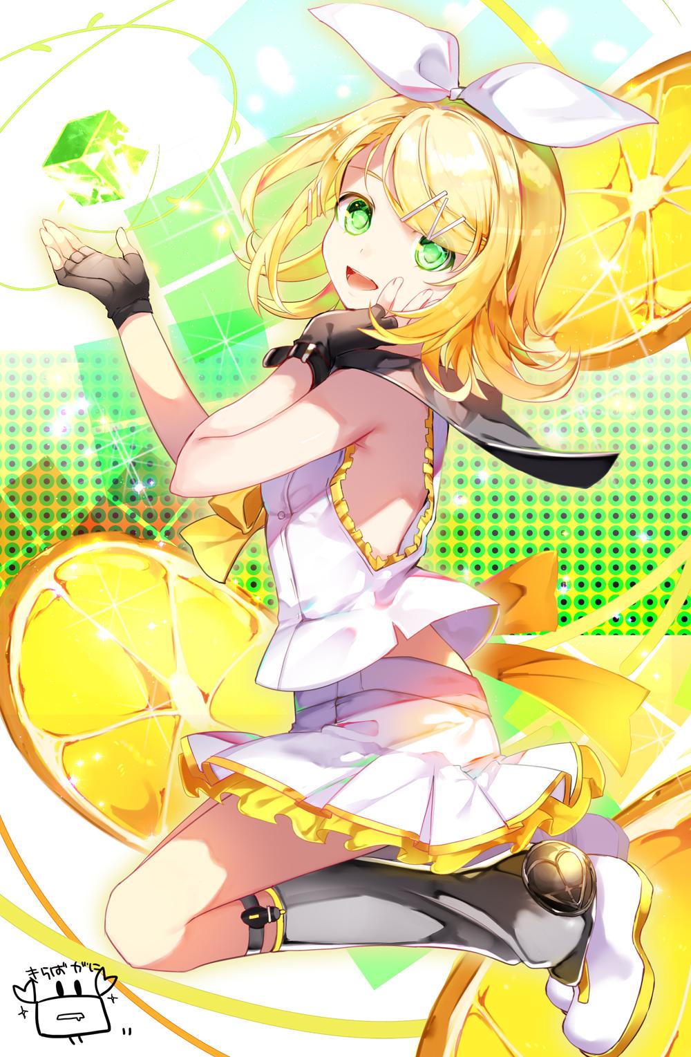 Vocaloid Wallpaper Rin Kagamine Rin (R...