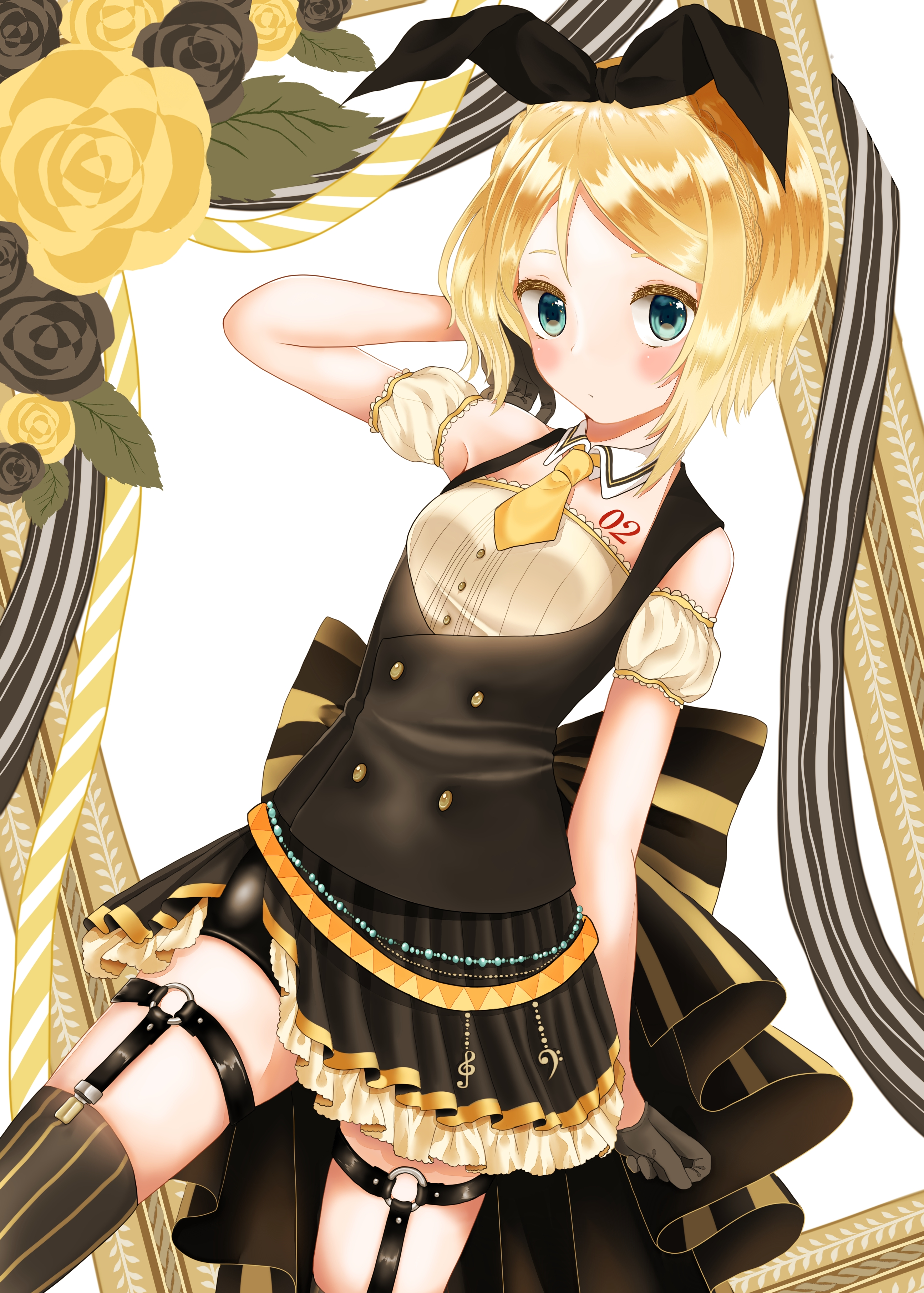 Kagamine Rin Wallpapers - Wallpaper Cave  |Rin Kagamine Anime