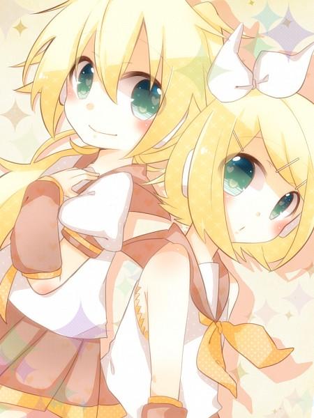 Tags: Anime, Vocaloid, Kagamine Rin, Pixiv, Kagamine Twins