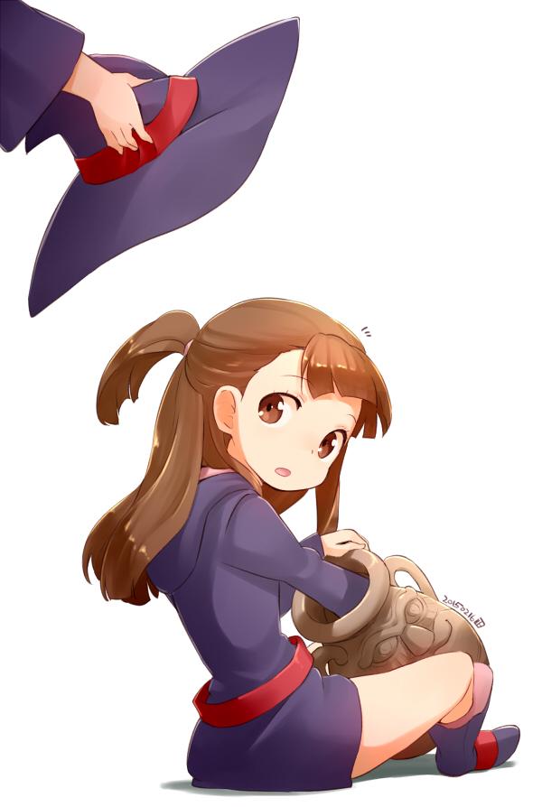 Tags: Anime, Nagian, Little Witch Academia, Kagari Atsuko