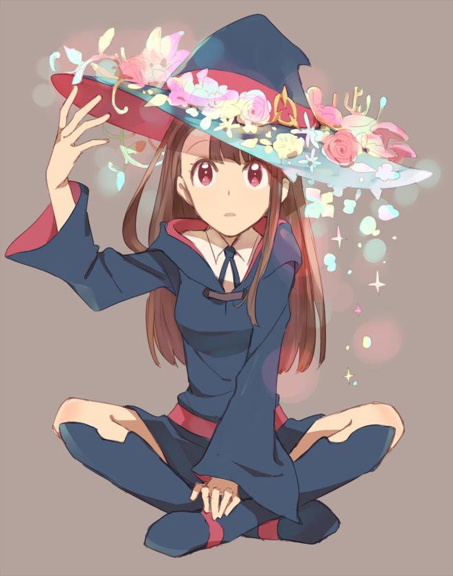 Tags: Anime, sou (Pixiv2760884), Little Witch Academia, Kagari Atsuko, Pixiv, Fanart, Fanart From Pixiv