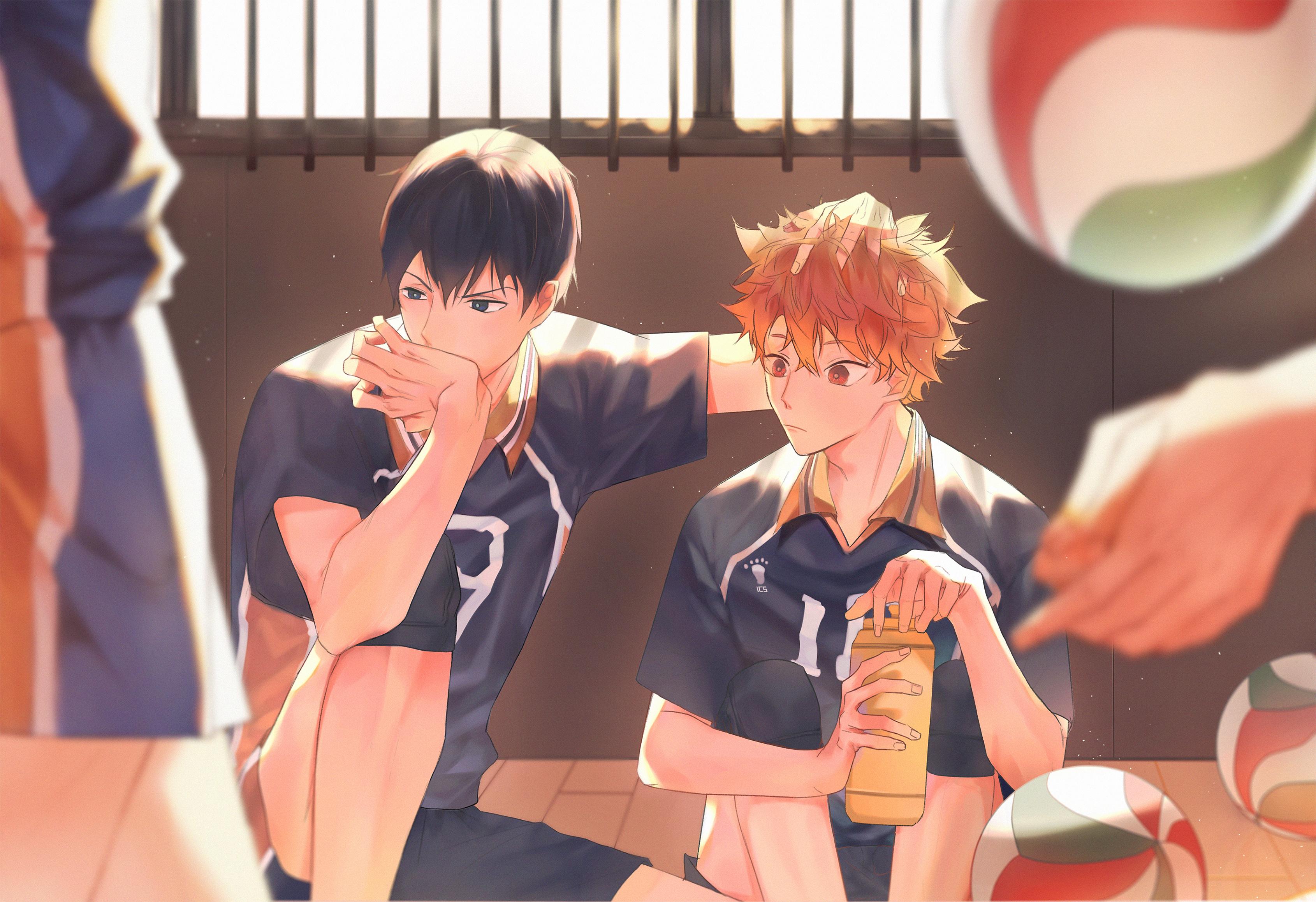 KageHina - Haikyuu!! - Image #2633099 - Zerochan Anime Image