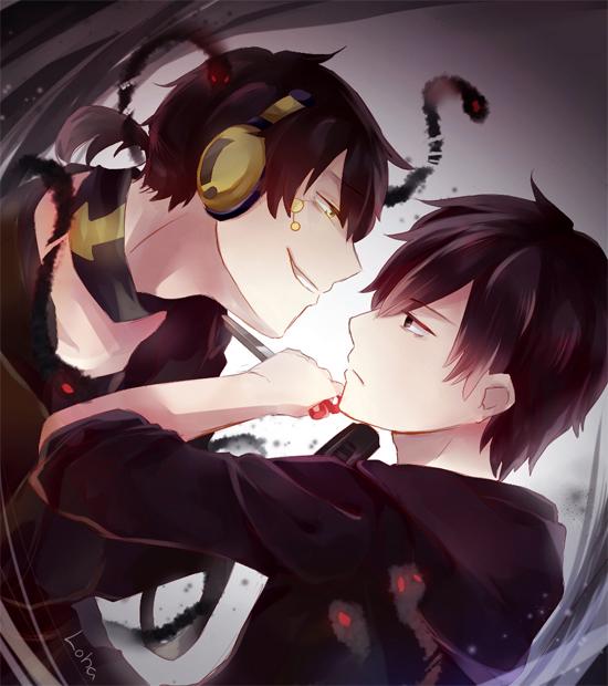 Tags: Anime, Lalaliluleloha, Kagerou Project, Dark Konoha, Kisaragi Shintaro, Kokonose