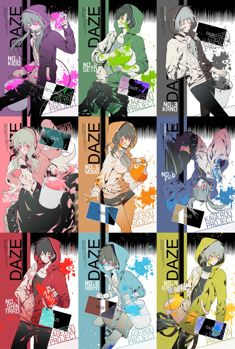 daze kagerou project zerochan anime image board