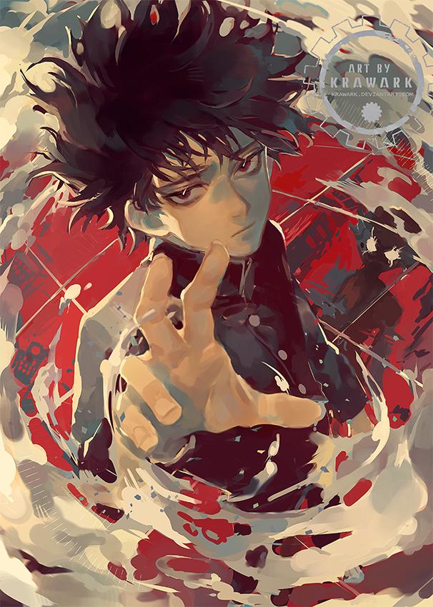 Tags: Anime, Renos (Artist), Mob Psycho 100, Kageyama Shigeo, Fanart From Pixiv, Pixiv, Fanart