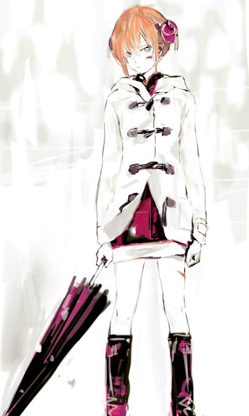 Tags: Anime, Pixiv Id 4277119, Gintama, Kagura (Gin Tama), Revision, Fanart, Fanart From Pixiv, Mobile Wallpaper, Pixiv