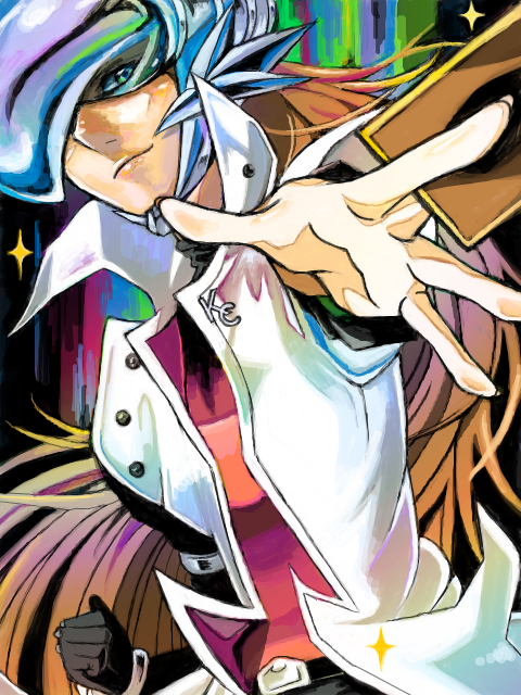 Tags: Anime, Pixiv Id 1120964, Yu-Gi-Oh! GX, Yu-Gi-Oh!, Kaibaman, Tegaki, Fanart, PNG Conversion