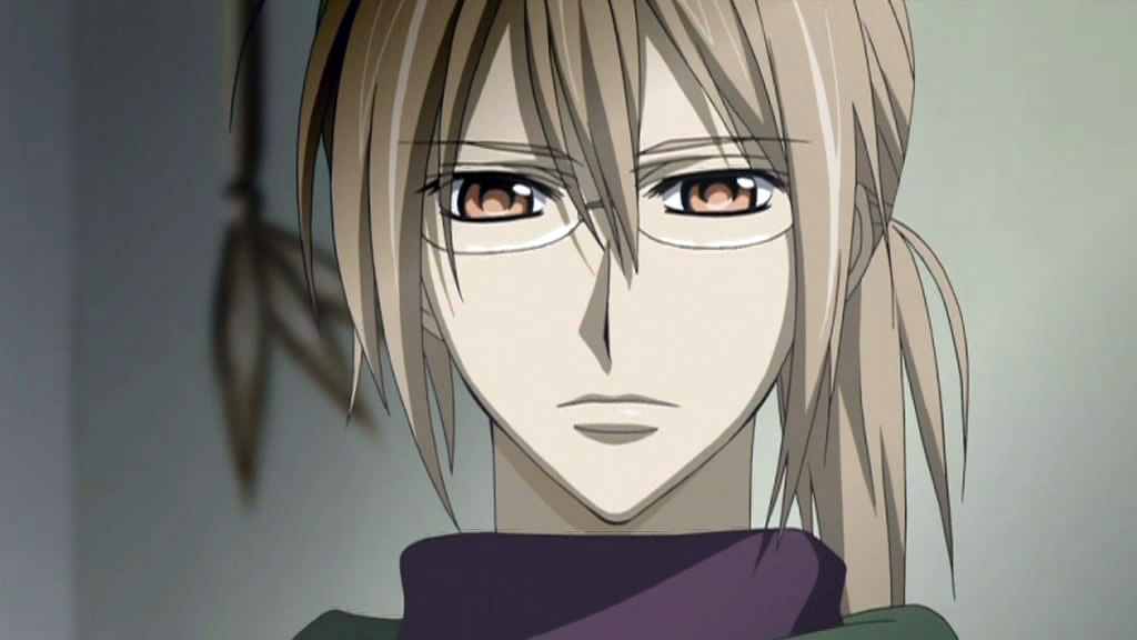 An image of Kaien from the anime Vampire Knight