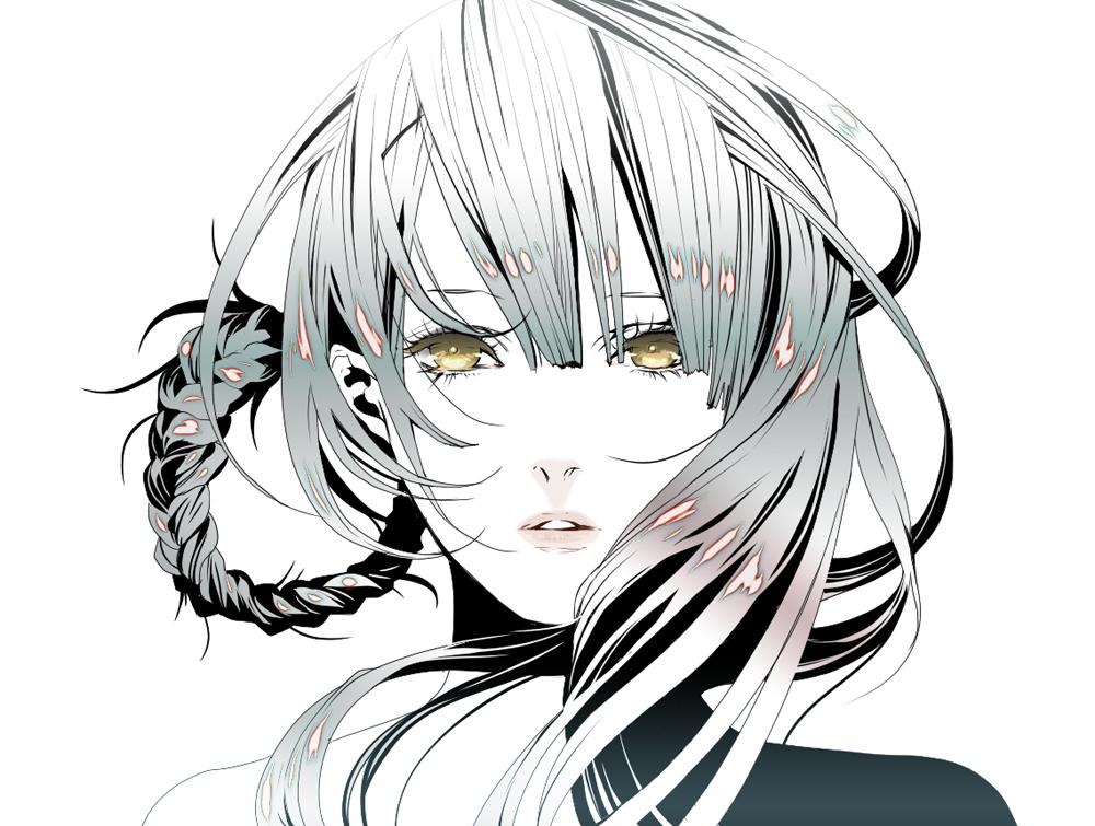 Asymmetrical Hairstyle Zerochan Anime Image Board