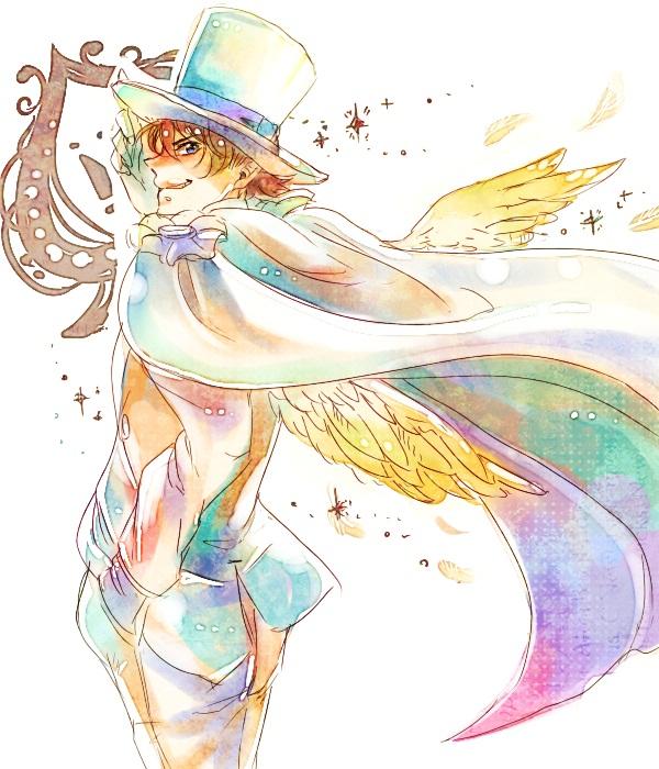 Tags: Anime, Pixiv Id 1133212, Magic Kaito, Kuroba Kaito, Kaitou Kid, Fanart