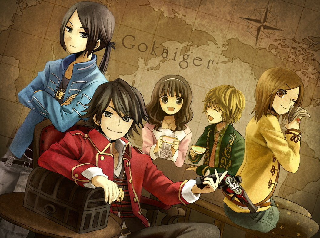 Kaizoku Sentai Gokaiger (Pirate Squadron Gokaiger) Image ...