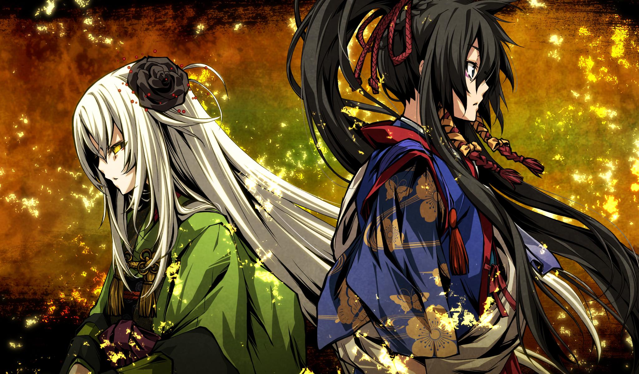 kajiri kamui kagura wallpaper 861155 zerochan anime