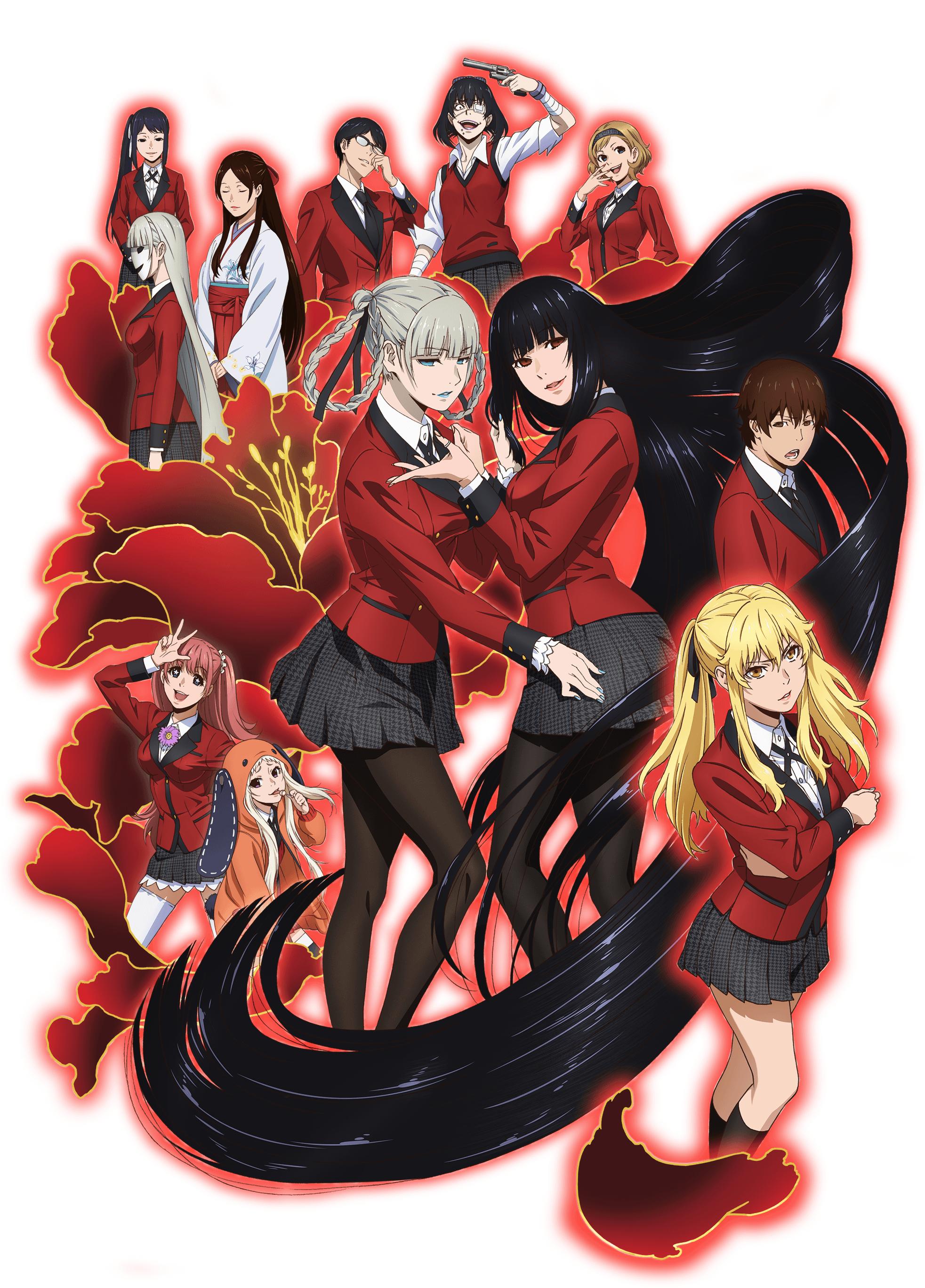 Kakegurui Mobile Wallpaper 2106234 Zerochan Anime Image Board