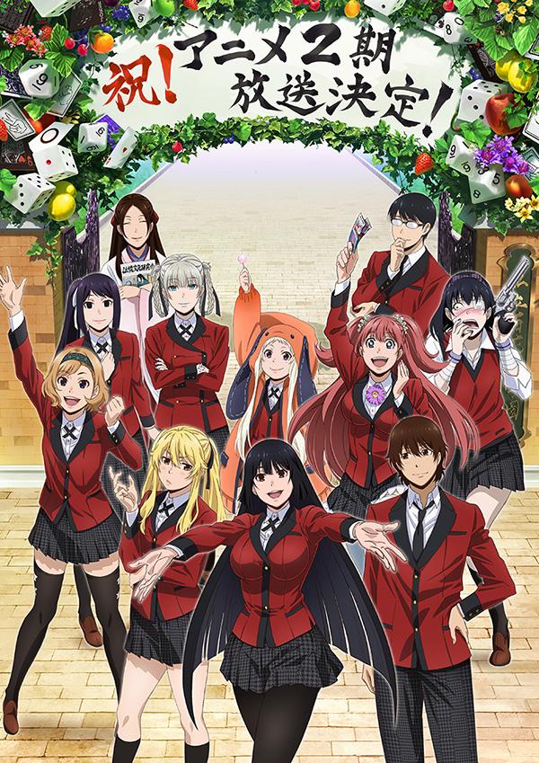 Tags: Anime, Akita Manabu, MAPPA, Kakegurui, Saotome Mary, Igarashi Sayaka, Jabami Yumeko, Manyuda Kaede, Suzui Ryouta, Yumemite Yumemi, Ikishima Midari, Nishinotouin Yuriko, Yomotsuki Runa