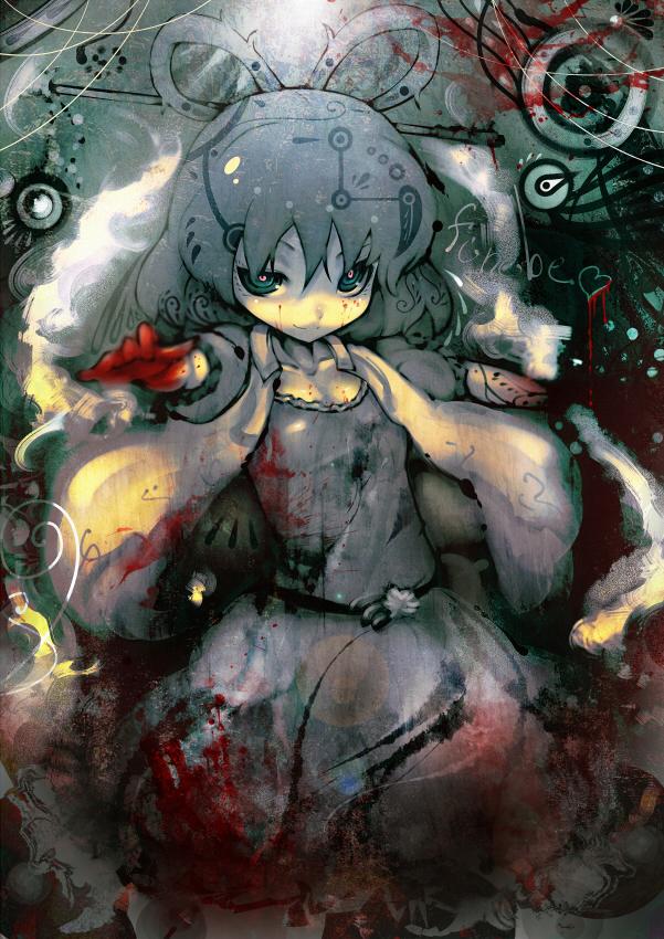 Tags: Anime, Koohee, Touhou, Kaku Seiga, Shaded Face, Fanart, Fanart From Pixiv, Pixiv, Seiga Kaku