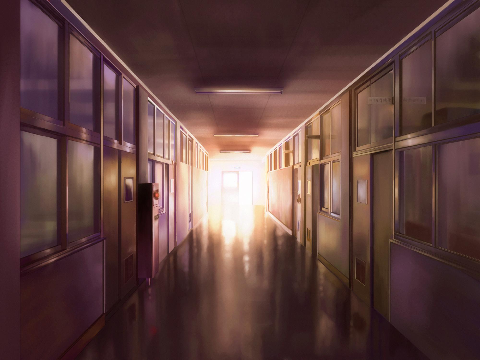 Kakure wallpaper 1059855 zerochan anime image board for Hallway wallpaper