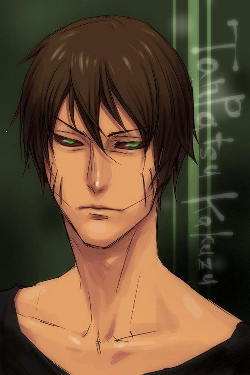 Tags: Anime, Pixiv Id 2218276, NARUTO, Kakuzu, Stitched Mouth, Pixiv, Mobile Wallpaper