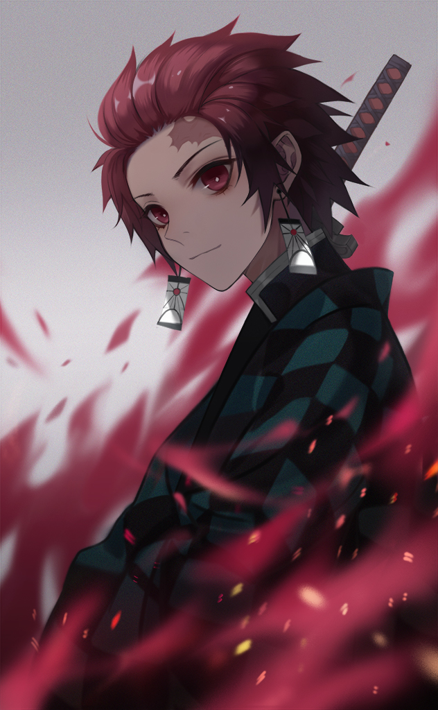 Tags: Anime, Pixiv Id 41451824, Kimetsu no Yaiba, Kamado Tanjirou, Pixiv, Fanart, Fanart From Pixiv