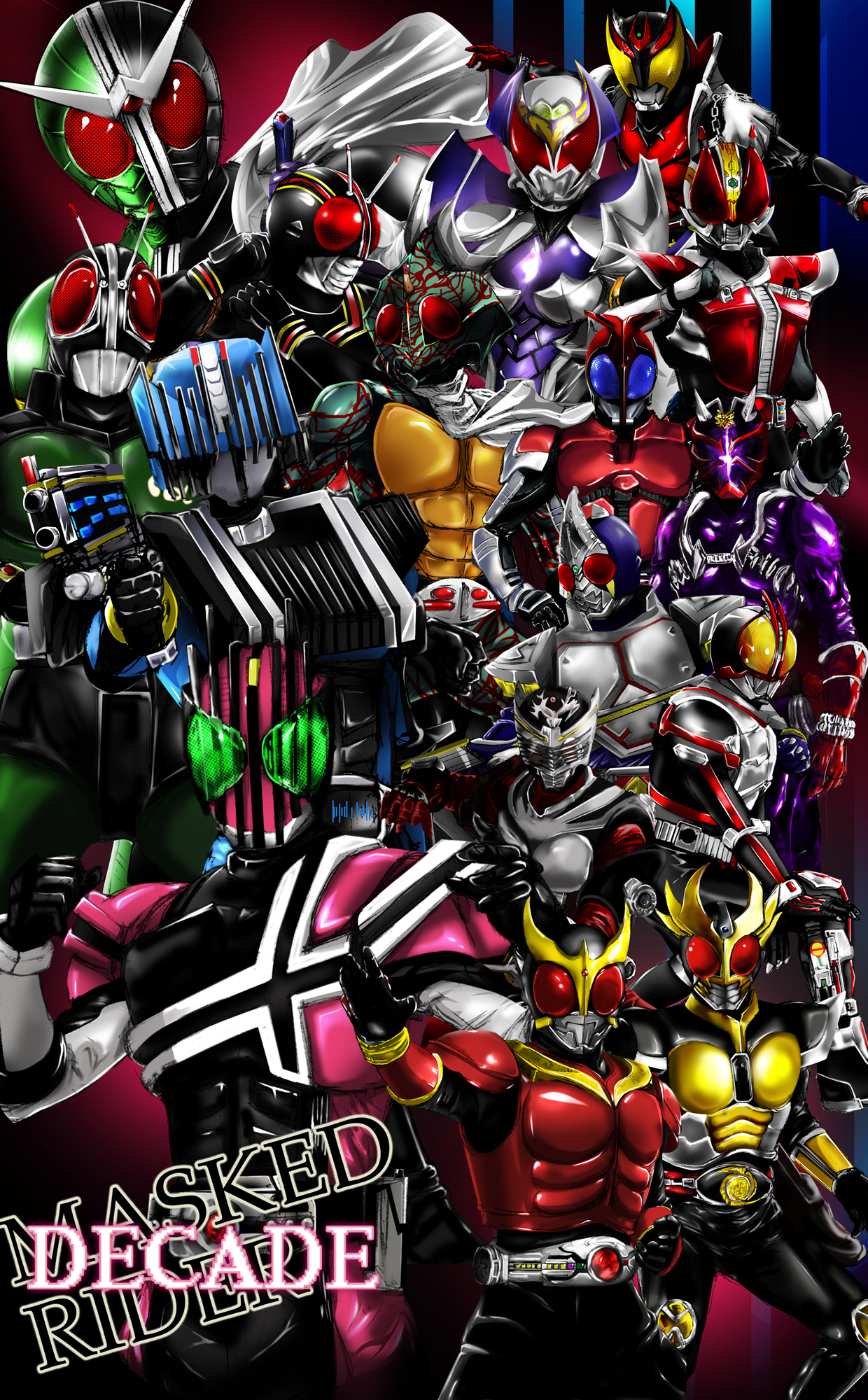 Kamen Rider Blade - Kamen Rider Series - Zerochan Anime Image Board