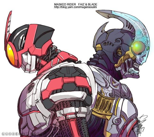 Tags: Anime, Pixiv Id 338453, Kamen Rider Blade, Kamen Rider Series, Kamen Rider 555, Kamen Rider Faiz, Kamen Rider Crash, Kamen Riders