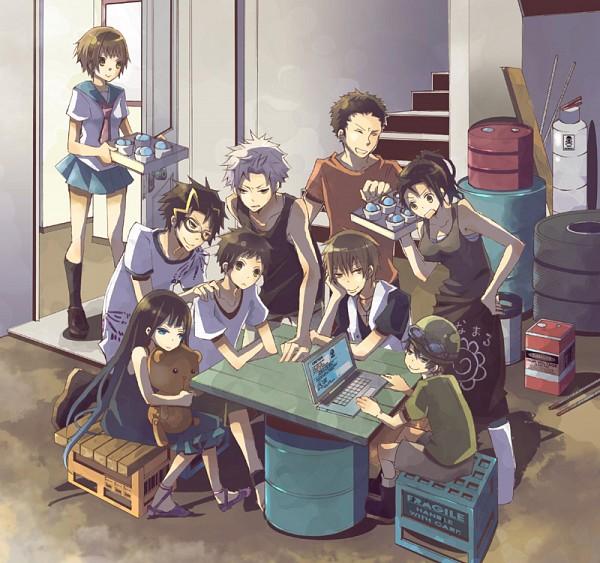 Tags: Anime, Pixiv Id 1680190, Kami-sama no Memo-chou, Mukai Hitoshi, Huang Minli, Ichinomiya Tetsuo, Shinozaki Ayaka