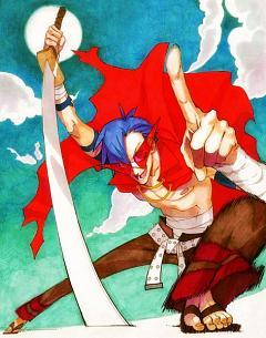 Escalar una Montaña roja por la libertad Kamina.240.1006586