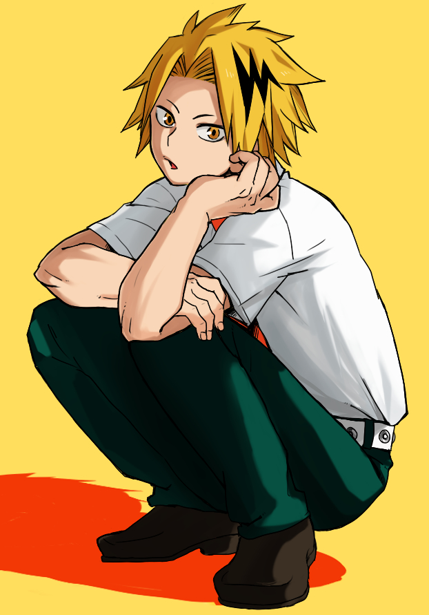 Kaminari Denki Boku No Hero Academia Mobile Wallpaper