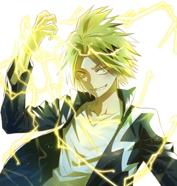 Kaminari Denki Boku No Hero Academia Zerochan Anime
