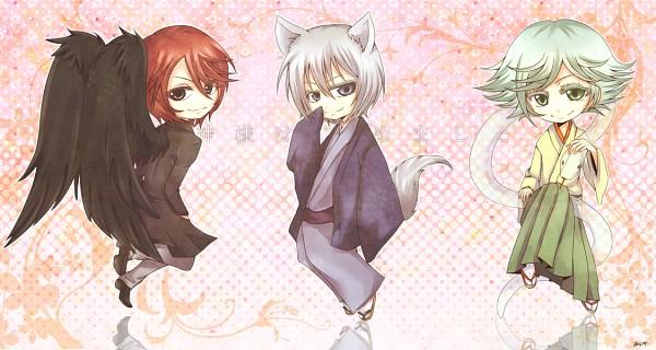 Tags: Anime, Pixiv Id 2214894, Kamisama Hajimemashita, Kurama (Kamisama Hajimemashita), Tomoe (Kamisama Hajimemashita), Mizuki (Kamisama Hajimemashita), Kitsunemimi