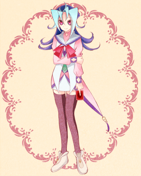Tags: Anime, Tsuyuice, Yu-Gi-Oh!, Yu-Gi-Oh! ZEXAL, Kamishiro Rio, Fanart, Twitter, PNG Conversion, Rio Kastle