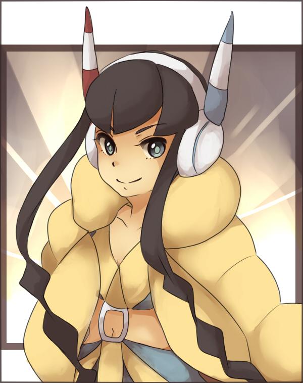 Tags: Anime, Koemi, Black and White 2, Pokémon, Kamitsure, Elesa