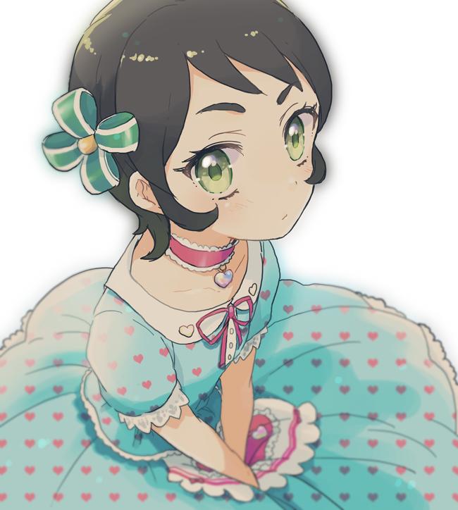 Tags: Anime, Asami (Highway), Aikatsu!, Kamiya Shion, Heart Print, Pixiv, Fanart, Fanart From Pixiv