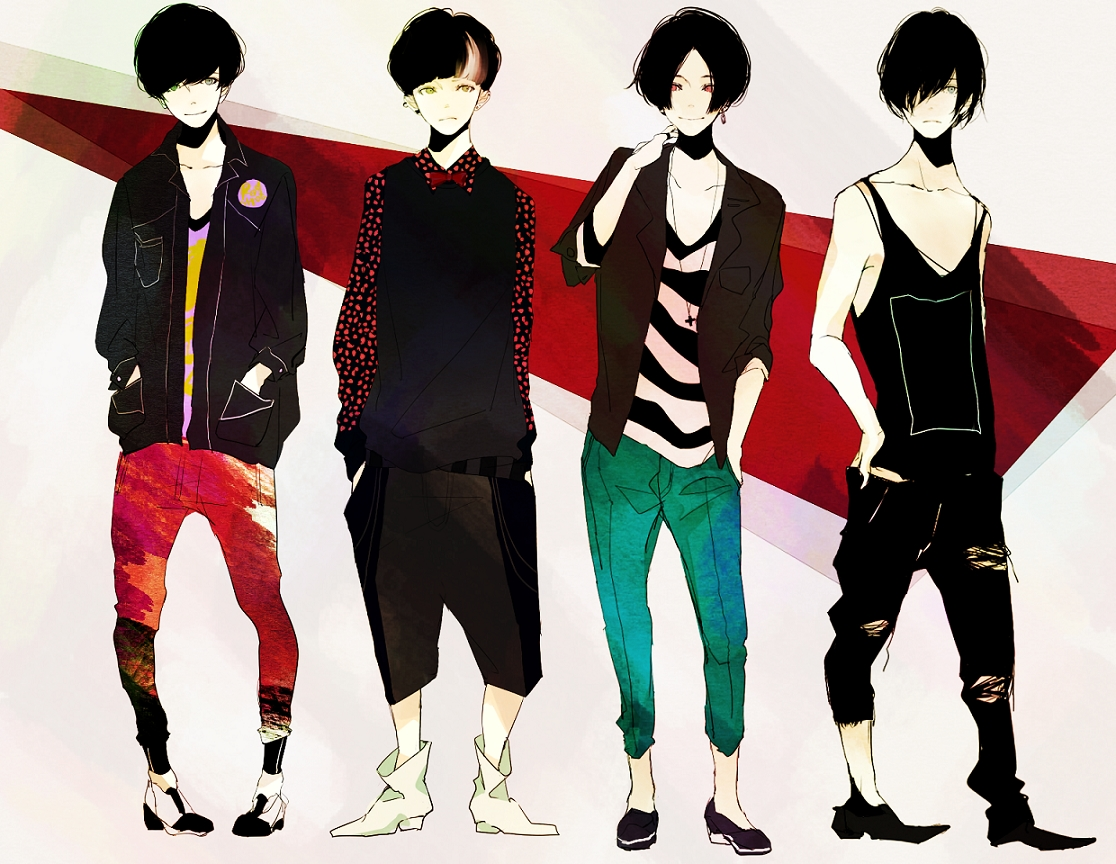 Anime Male Clothes Designs Casual