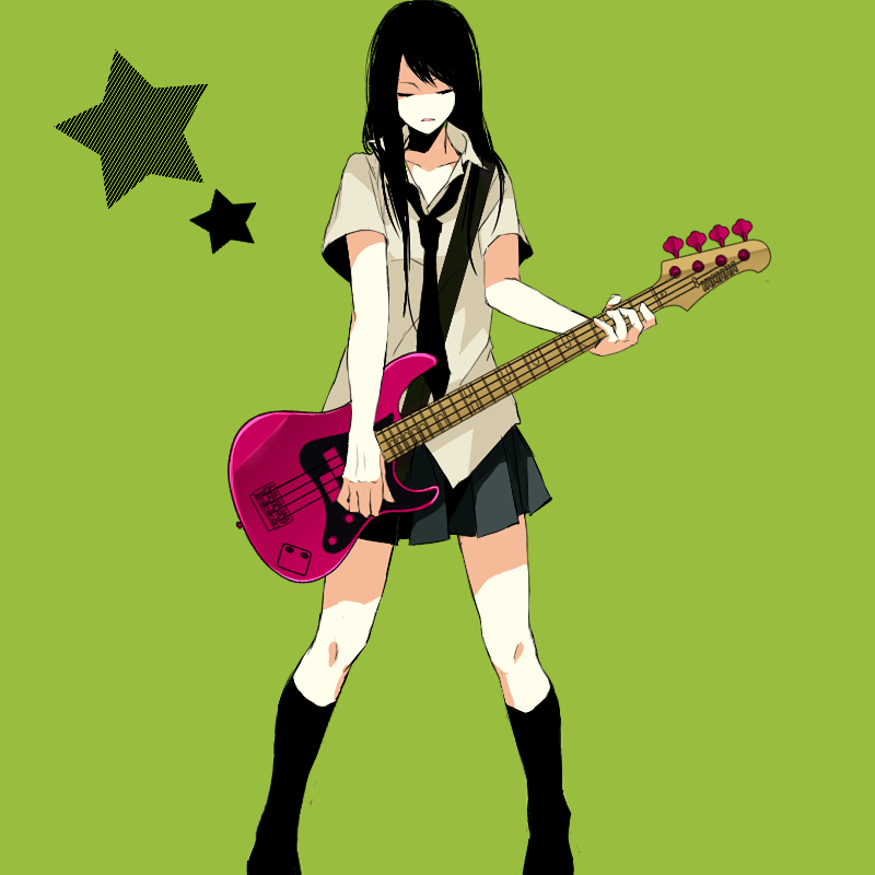 Guitar Musical Instrument Zerochan Anime Image Board