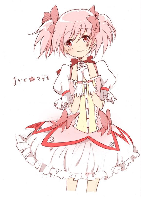 Tags: Anime, Moha, Mahou Shoujo Madoka☆Magica, Kaname Madoka, Fanart From Pixiv, Mobile Wallpaper, Pixiv, Fanart