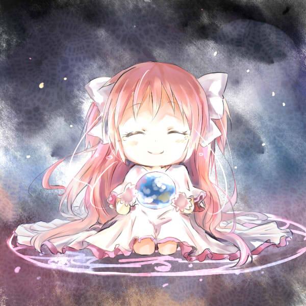Tags: Anime, Huahua, Mahou Shoujo Madoka☆Magica, Ultimate Madoka, Kaname Madoka, Pixiv, Fanart