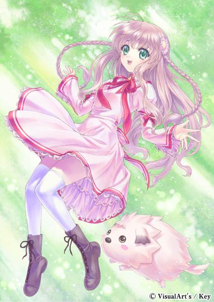 Tags: Anime, Taue Shunsuke, KEY (Studio), Rewrite, Kanbe Kotori, Rewrite Official Site - Ouen Illustrations