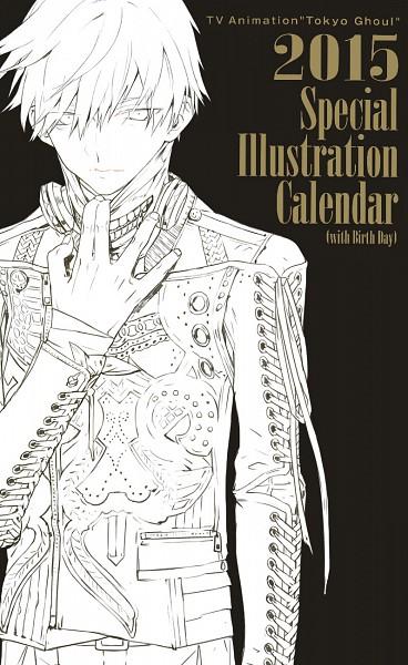 Special Illustration Calendar Tokyo Ghoul : Kaneki ken zerochan