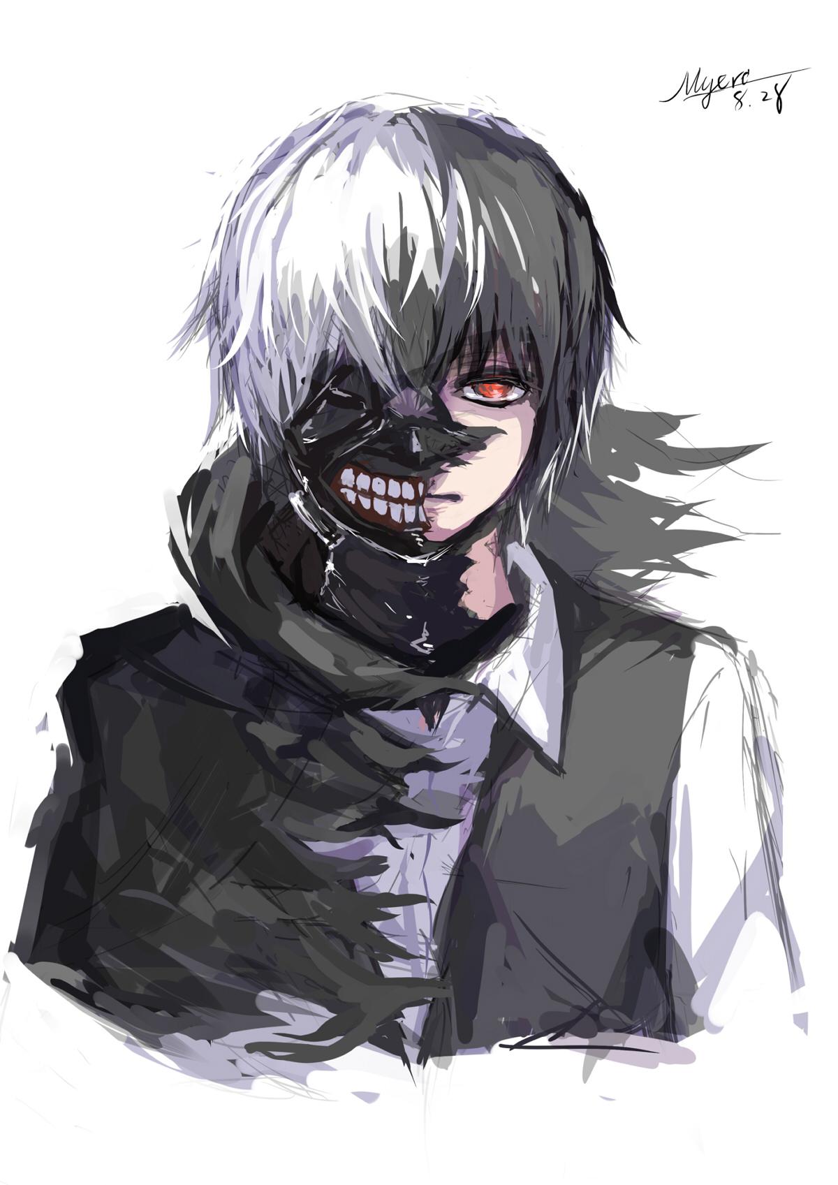 Kaneki Ken - Tokyo Ghoul - Mobile Wallpaper #1778838 ...