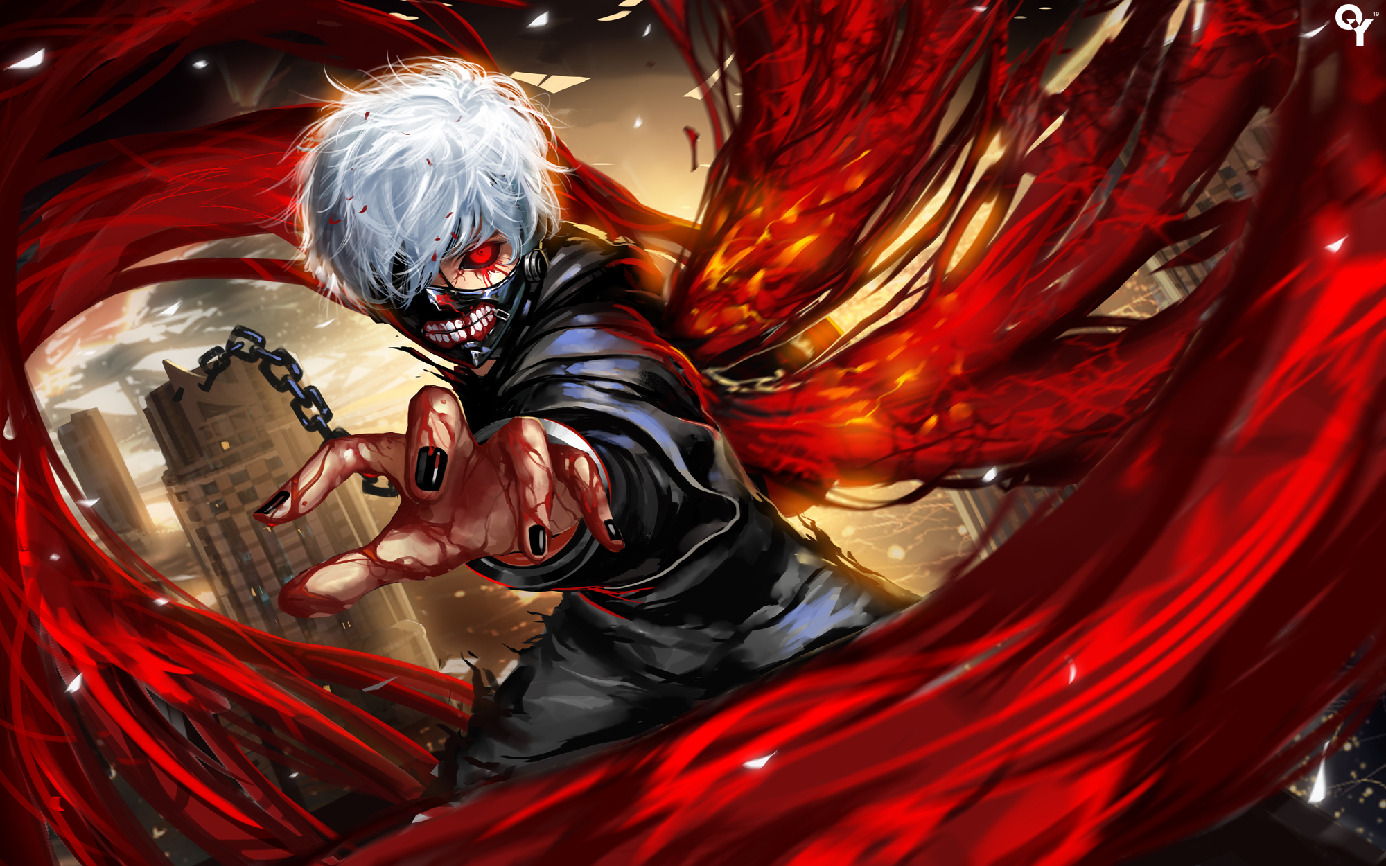 Kaneki Ken Hd Wallpaper Zerochan Anime Image Board