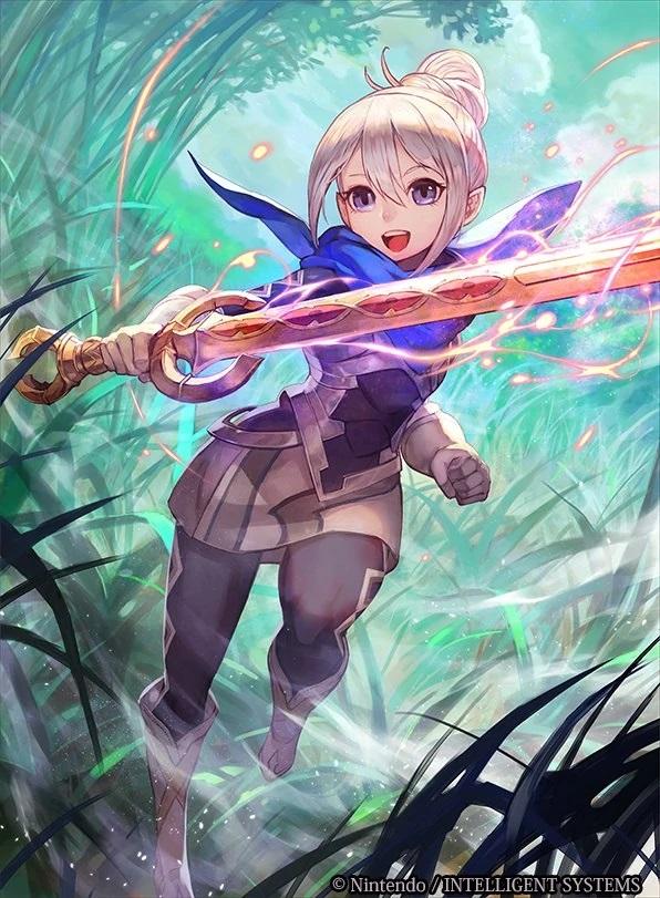 Tags: Anime, Intelligent Systems, Nintendo, Fire Emblem If, Kanna (Fire Emblem), Official Art