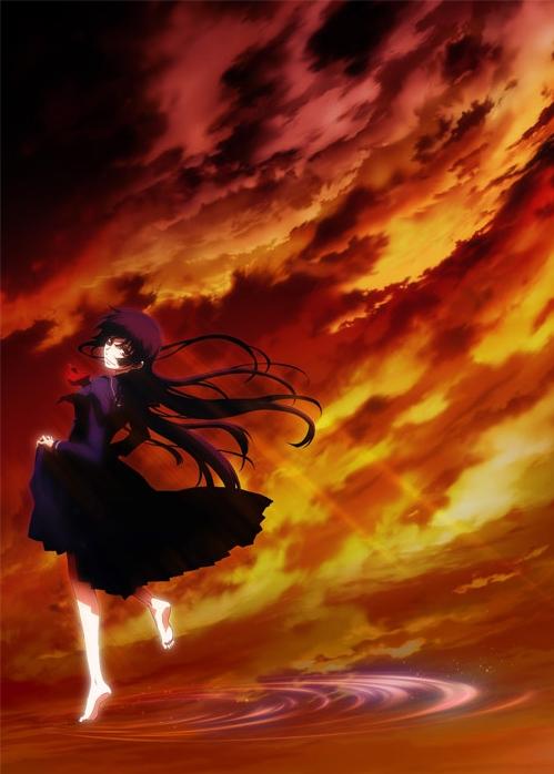 Tags: Anime, Silver Link, Tasogare Otome x Amnesia, Kanoe Yuuko, Official Art, Mobile Wallpaper