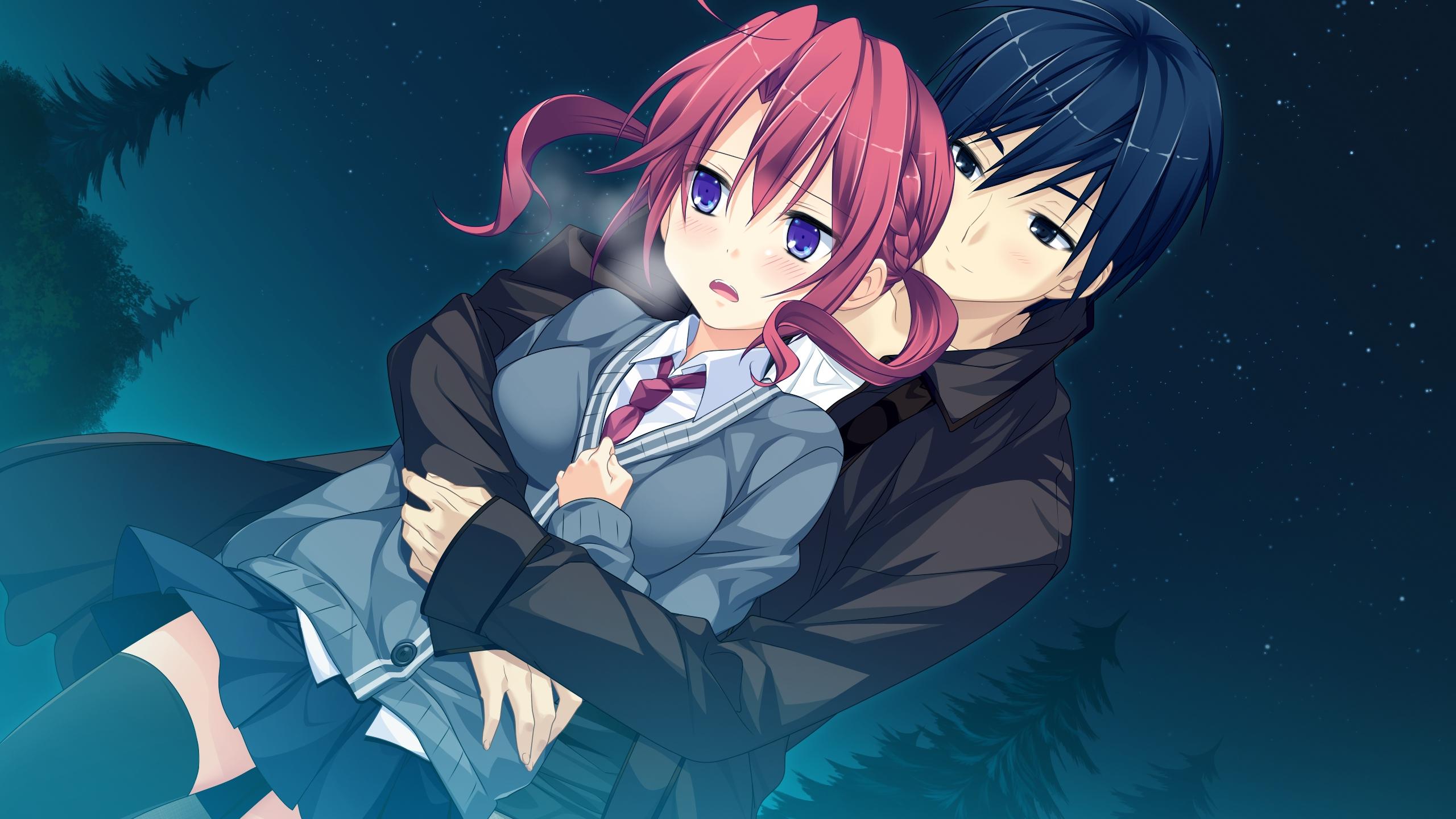 Картинки из аниме жанр романтика