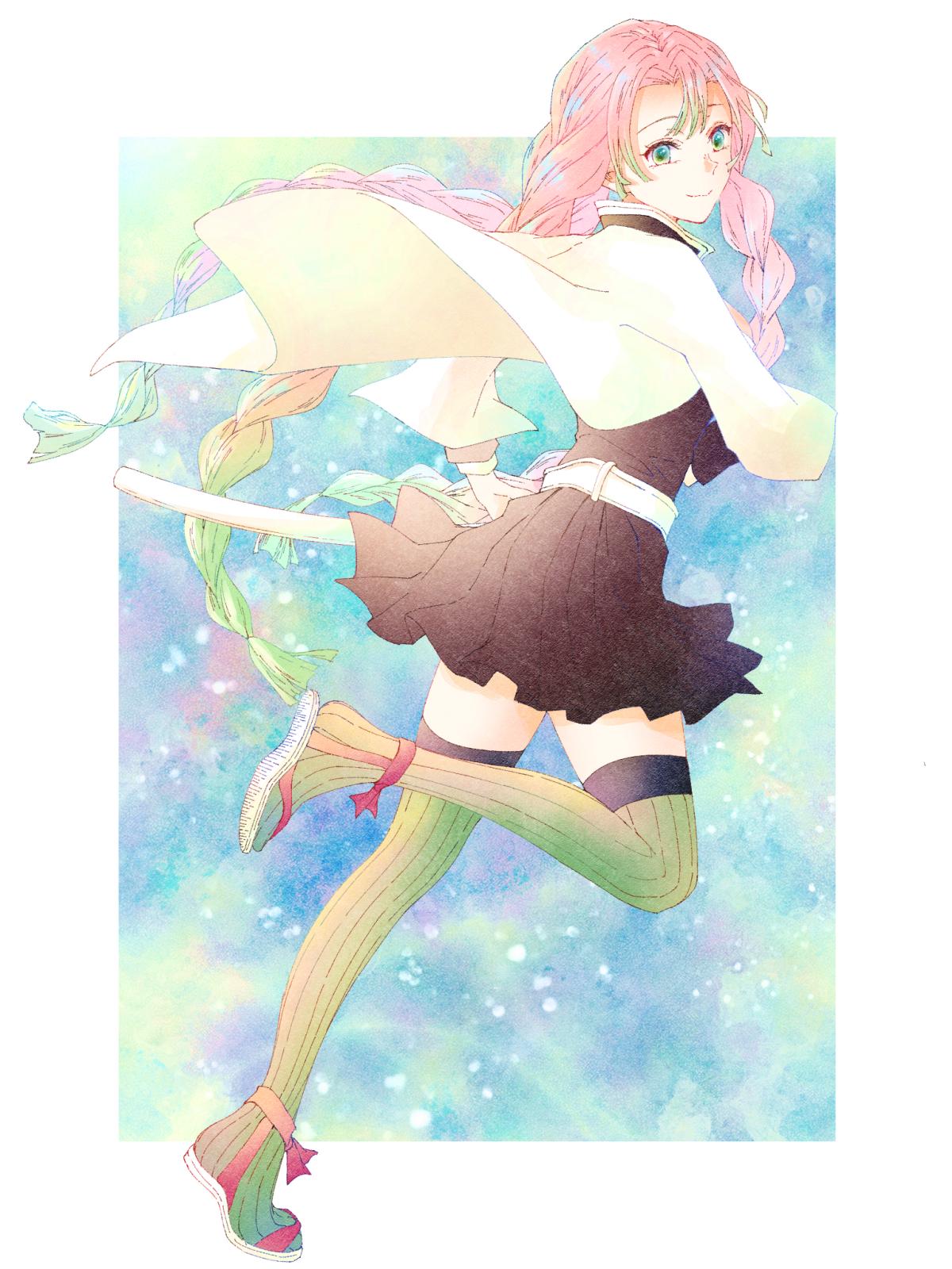 Kanroji Mitsuri Kimetsu No Yaiba Wallpaper 2602917 Zerochan Anime Image Board Tons of awesome mitsuri kanroji wallpapers to download for free. kanroji mitsuri kimetsu no yaiba
