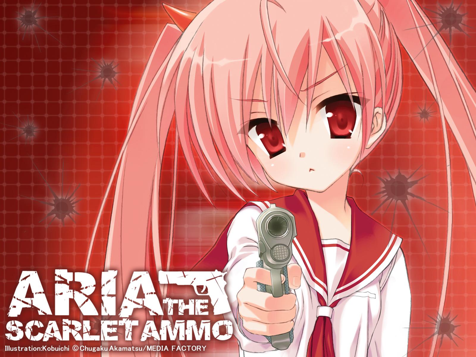 Hidan No Aria Aria The Scarlet Ammo Wallpaper Zerochan Anime