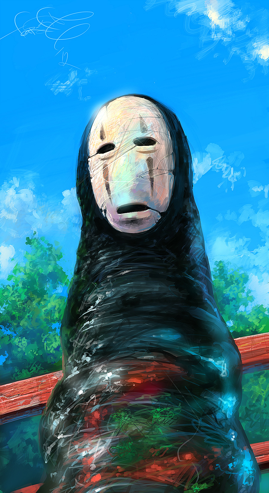Kaonashi No Face Character Sen To Chihiro No
