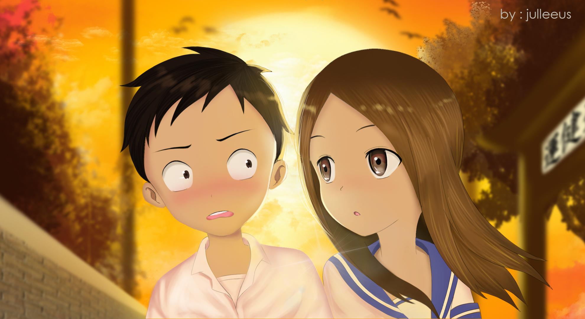 Karakai Jouzu No Takagi San Wallpaper 2296304 Zerochan Anime