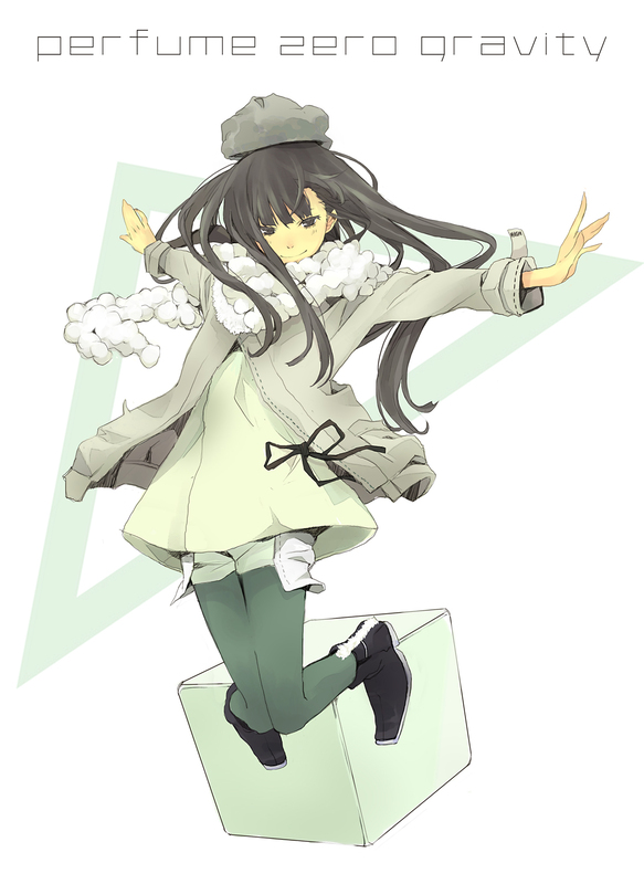 Tags: Anime, Yoshito, Kashino Yuka, Mobile Wallpaper, ⊿ (Album), J-Pop, Perfume (Band)